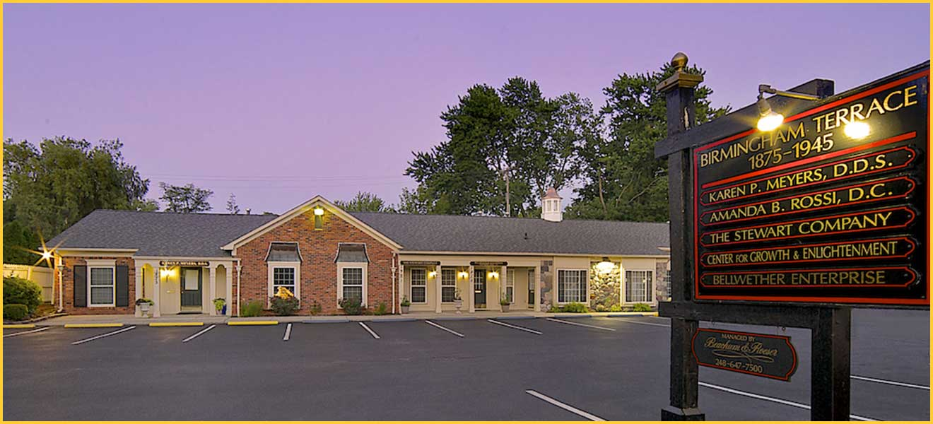 office space for lease in Birmingham Terrace executive offices in Birmingham, MI